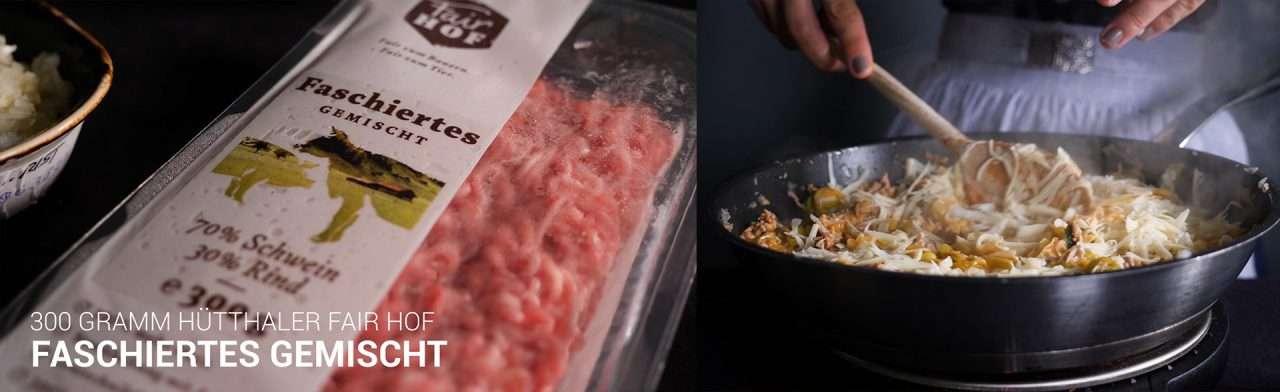 Hütthaler - Cooking Catrin kocht einen gefüllten Kürbis mit Faschiertem