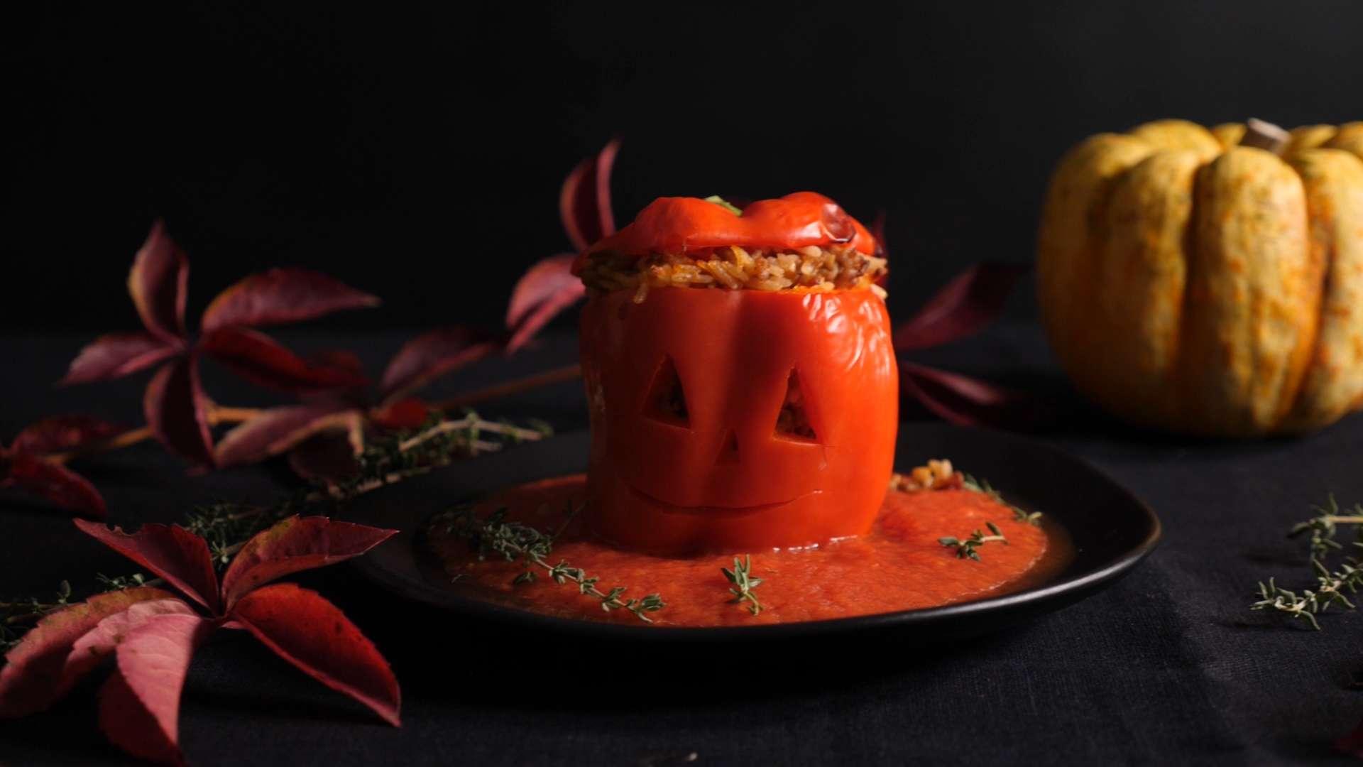 Cooking Catrin kocht gefüllten Halloween-Geist