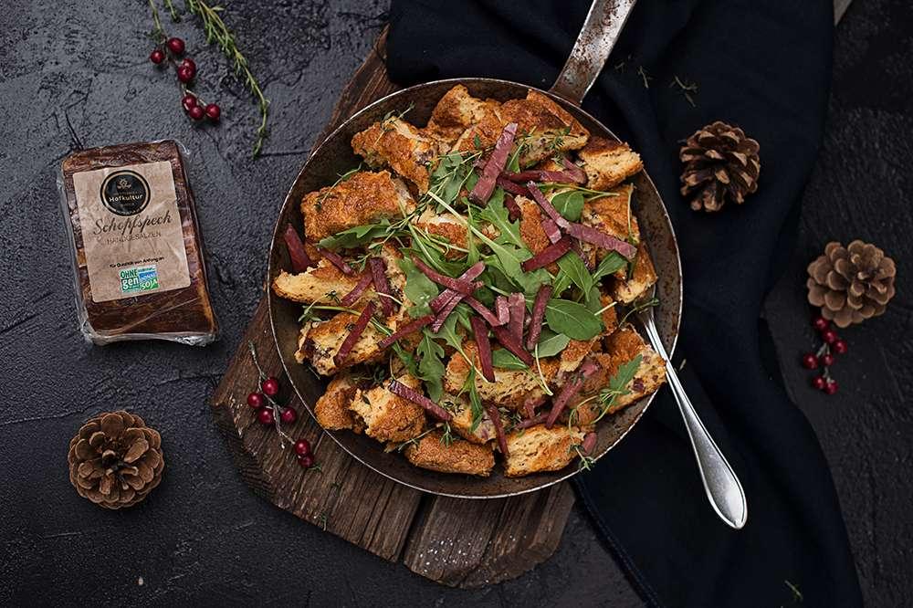 Cooking Catrin kocht für Hütthaler Winterschmarrn