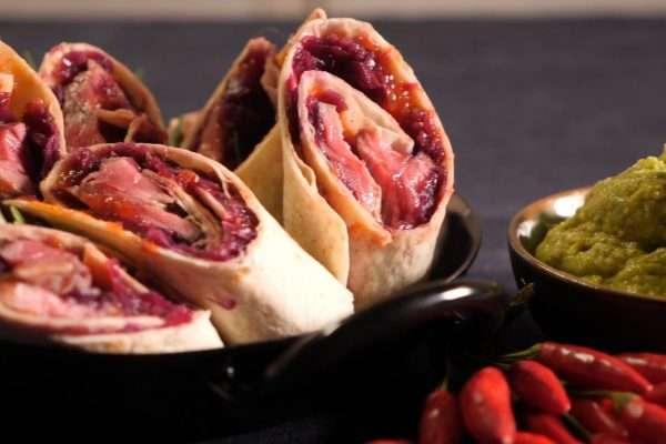CookingCatrin kocht für Hütthaler Steak Wraps