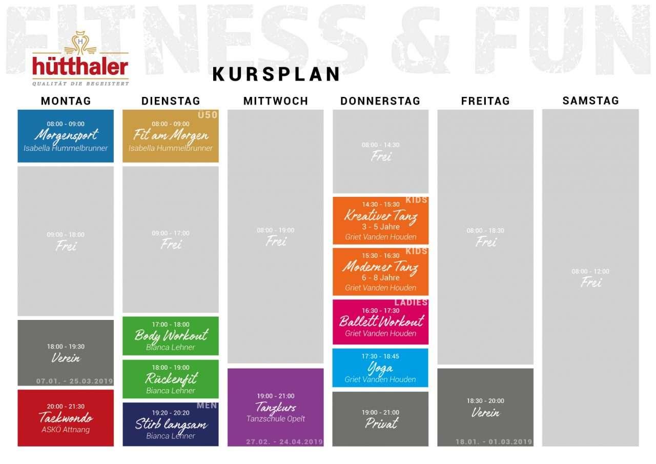 Hütthaler's Fitness- & Sportprogramm