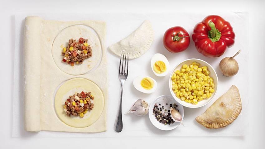Empanadas mit Faschiertem