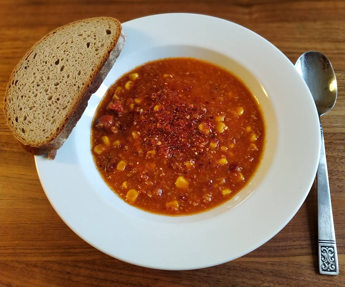 hütthalers hofkultur Partnerlandwirte kochen Chili con carne