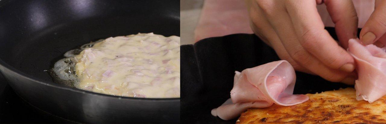Rezept Oster-Pfannkuchen mit Schinken
